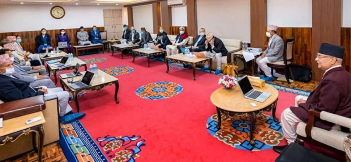 लकडाउन मोडालिटी फेर्नेः मन्त्रिपरिषदको बैठकमा छलफल हुँदै