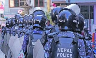 नेपाली काँग्रेसका कार्यकर्ता र प्रहरीबीच झडप