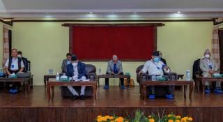 प्रधानमन्त्री निवाससहित ३ कार्यालयका कर्मचारीको कोरोना परीक्षण