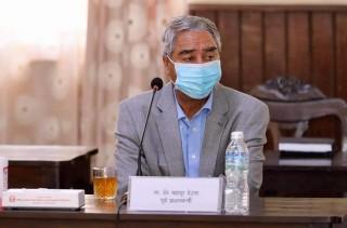 गणेशमान नेपाली राजनीतिका शिखर पुरुषः सभापति देउवा