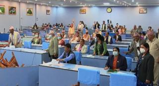 प्रदेश ५ सभामा रमिता : सांसदद्वारा कुर्सी तोडफोड