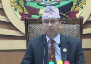 प्रदेश-५ को नाम लुम्बिनी र राजधानी देउखुरीराख्ने प्रस्ताव दुई तिहाइले पारित