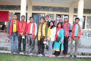 जलविद्युत पत्रकारको राष्ट्रिय भेला, समाज अध्यक्षमा कोइराला