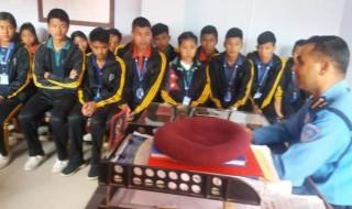 'प्रहरीसँग एकदिन विद्यार्थी'