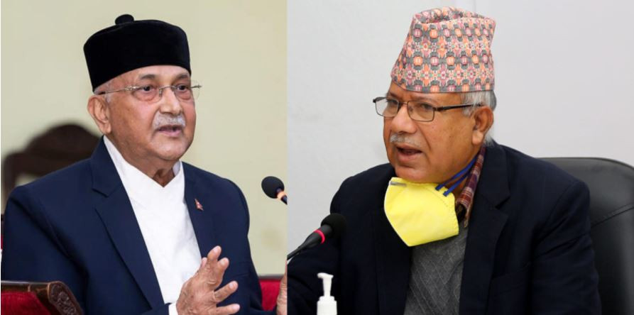 पुर्व एमालेका यी शक्तिशाली ५ नेता ओली तिरै फर्किएपछी ,यसरी एक्लिदै छन् दाहाल समुहमा माधव नेपाल !