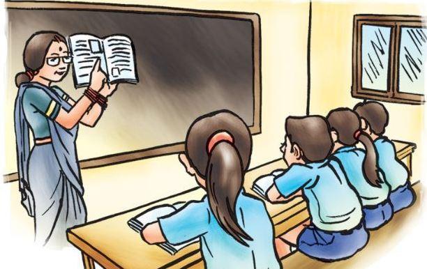 शङ्खरापुरमा एक विद्यालय एक योग शिक्षक