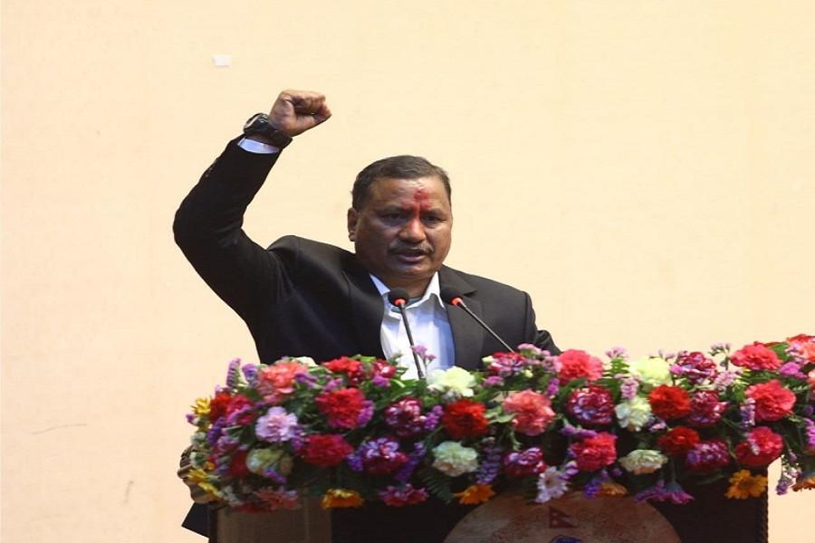 नेपाल सरकार र नेकपा 'विप्लव'बीच हस्ताक्षर कार्यक्रममा विप्लवको ३० मिनेट, के के बोले ?